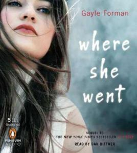 Where She Went by Gayle Forman (audio remix)
